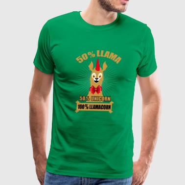 Llamacorn - Men's Premium T-Shirt