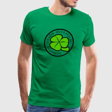 Shamrock Saint Patricks Day - Men's Premium T-Shirt