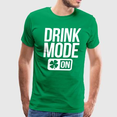 GAME MODE ON IRISH - Men's Premium T-Shirt