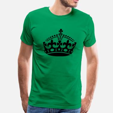 Keep Calm Crown Keep Calm Crown - Men's Premium T-Shirt