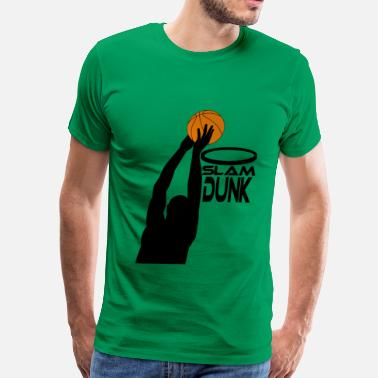 Dunking Dunk - Men's Premium T-Shirt