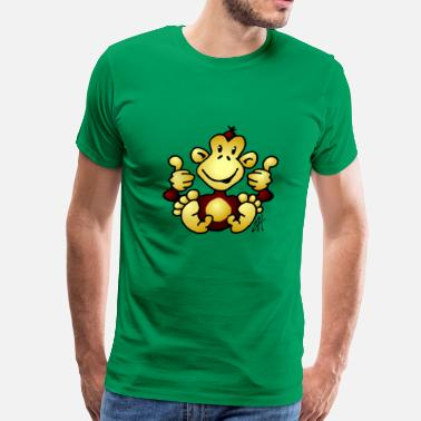 Aap Monkey - Men's Premium T-Shirt