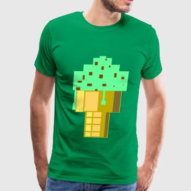 Mint Choc Chip Ice Cream Large - Men's Premium T-Shirt