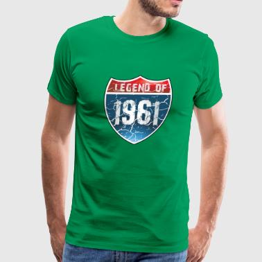 Legend Of 1961 - Men's Premium T-Shirt