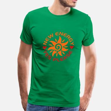 New Energy new energy sun - Men's Premium T-Shirt