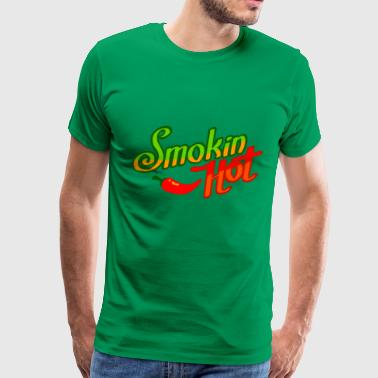 Smokin hot for sexy girls - Men's Premium T-Shirt