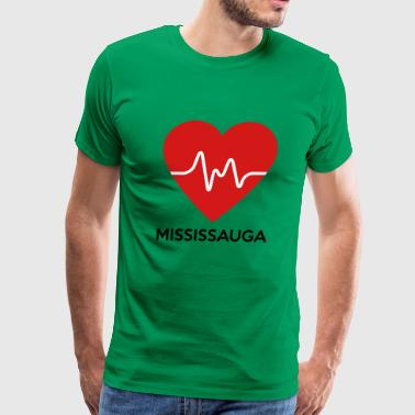 Heart Mississauga - Men's Premium T-Shirt