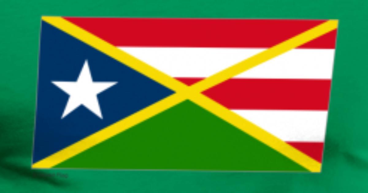 Jamaica Puerto Rico Flag By Dakster