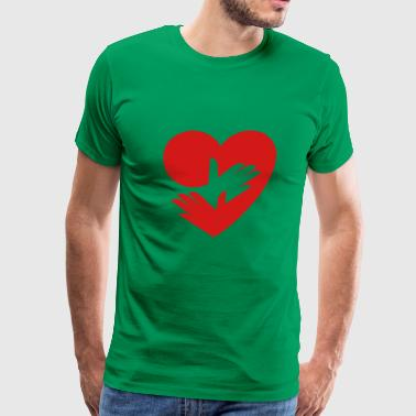 RedHeart - Take Care of Yourself - Men's Premium T-Shirt