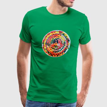 Bob Marley One Love Mandala - Men's Premium T-Shirt