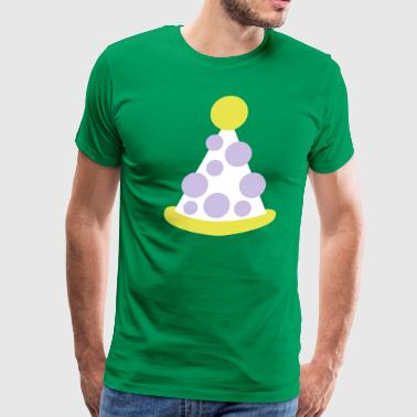 clown circus hat - Men's Premium T-Shirt
