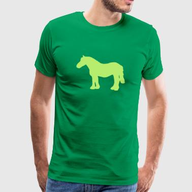 cold-blooded horse - Men's Premium T-Shirt