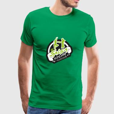 #SalsaEsLaCura green - Men's Premium T-Shirt