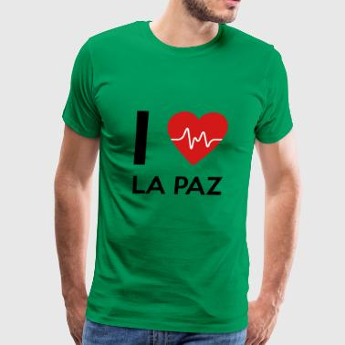 La Paz I Love La Paz - Men's Premium T-Shirt