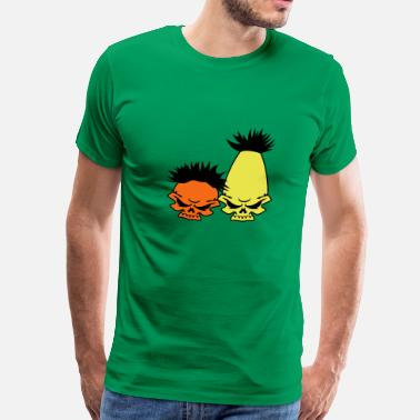 Bert Zombie Street – Bert and Ernie - Men's Premium T-Shirt