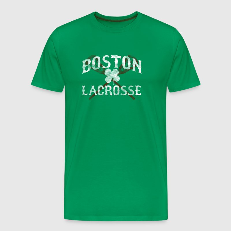 Boston Lacrosse Shamrock Apparel - Men's Premium T-Shirt