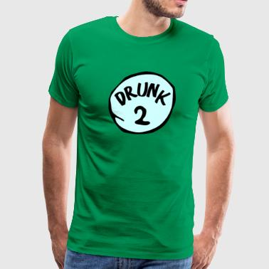 DRUNK 2 - Men's Premium T-Shirt