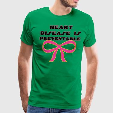 Heart Disease Is Preventable - Men's Premium T-Shirt