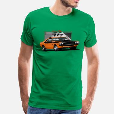 Srt8 DODGE CHALLENGER TA - Men's Premium T-Shirt