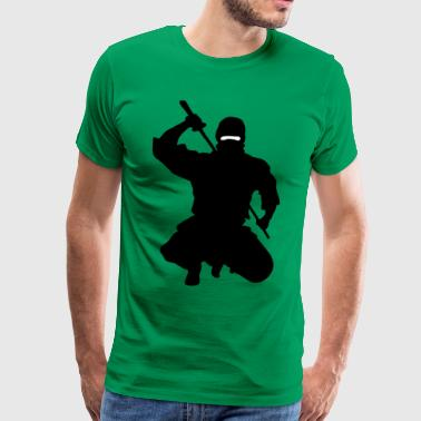NINJA ATTACK - Men's Premium T-Shirt