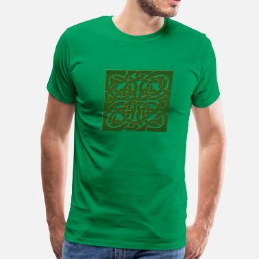 Celtic Leprechaun Celtic - Men's Premium T-Shirt