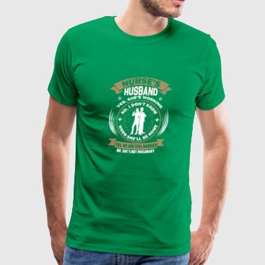 Nurses Husband Nurse's husband - Men's Premium T-Shirt