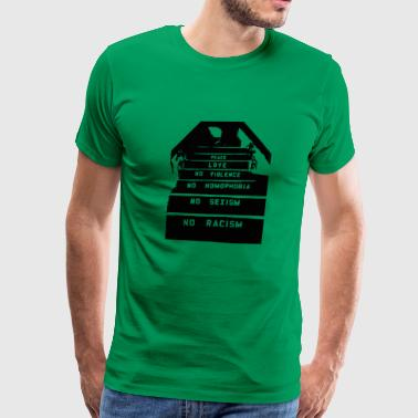 Steps to Enlightenment - Men's Premium T-Shirt