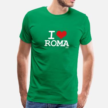 Roma i love roma by wam - Men's Premium T-Shirt