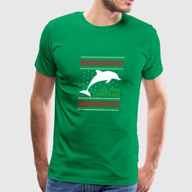 Dolphin Lovers Christmas Sweater - Men's Premium T-Shirt