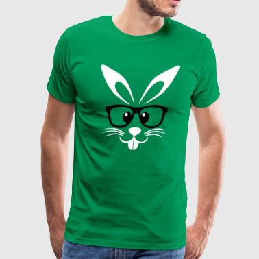 Nerd Easter Bunny - Men's Premium T-Shirt