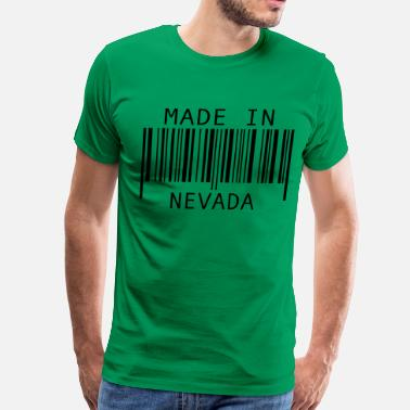 Nevada Made in Nevada - Men's Premium T-Shirt
