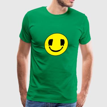Smile Dj DJ smile - Men's Premium T-Shirt