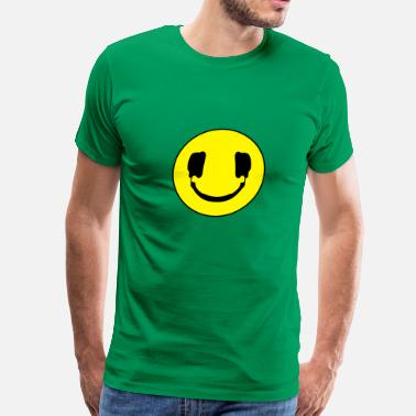 Smile Club DJ smile - Men's Premium T-Shirt