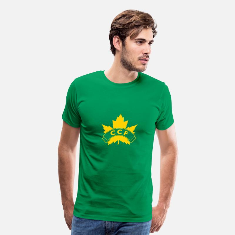 Ccf T-Shirts - CCF - Men's Premium T-Shirt kelly green