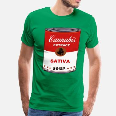 Cannabis Culture CANNABIS SOUP - Men's Premium T-Shirt