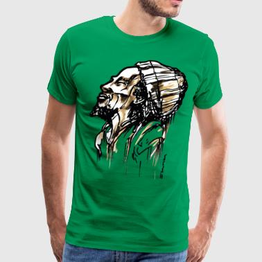 SMILING RASTA - Men's Premium T-Shirt