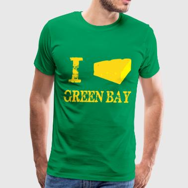 I cheesehead GB - Men's Premium T-Shirt