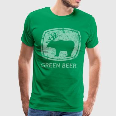 Green Beer St Patrick's Day - Men's Premium T-Shirt