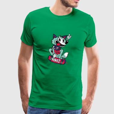 Foxes - Men's Premium T-Shirt