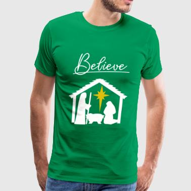 Believe Jesus - Men's Premium T-Shirt