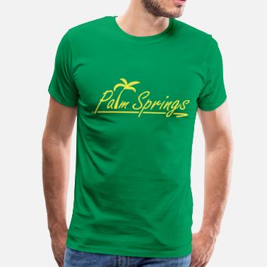 Palm Palm Springs - Men's Premium T-Shirt
