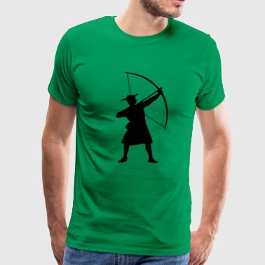 Hood archery - Men's Premium T-Shirt