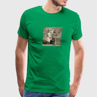 Tlingit couple - Men's Premium T-Shirt