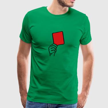 Red Card - Men's Premium T-Shirt