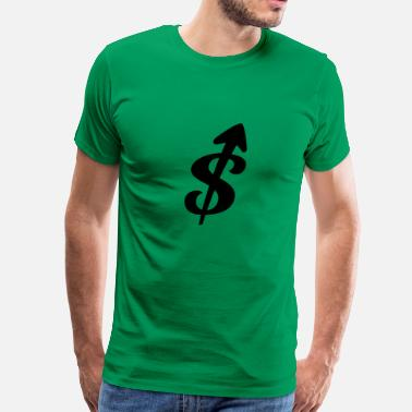 2 Dollars dollars - Men's Premium T-Shirt