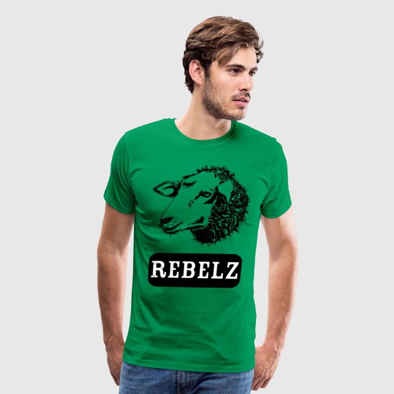 rebelz blak - Men's Premium T-Shirt