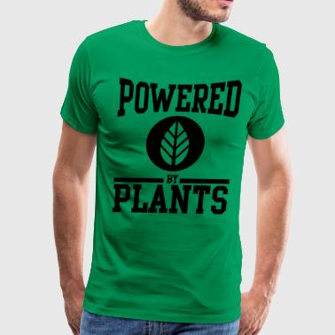 Veganism Powered by Plants - Men's Premium T-Shirt