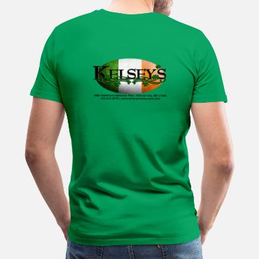 Irish Bar Kelsey's Irish Restaurant - Men's Premium T-Shirt
