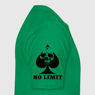 NO LIMIT SPADE - Men's Premium T-Shirt