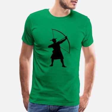 Robin archery - Men's Premium T-Shirt